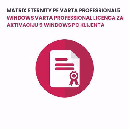 Matrix ETERNITY PE VARTA PROFESSIONAL5