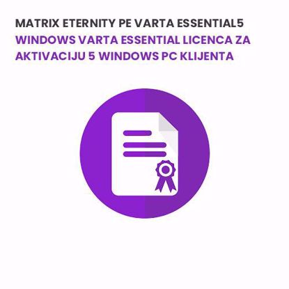 Matrix ETERNITY PE VARTA ESSENTIAL5