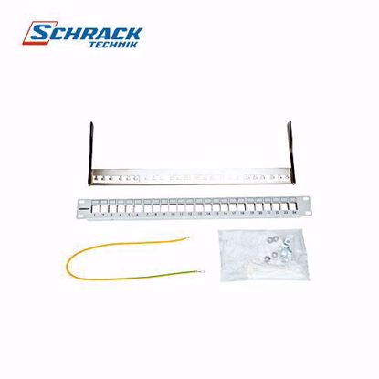 Slika od Schrack TOOLLESS LINE-19 Patch panel za 24 modula,prazan,visine 1HU HSER0240GS