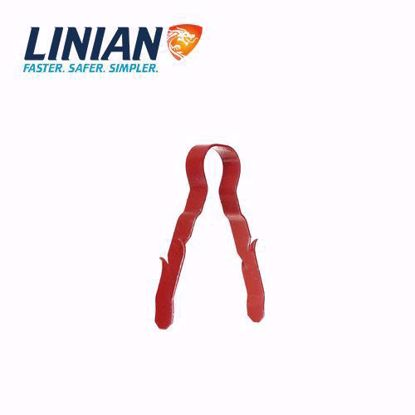 Linian Fire Clip Single Red 6-8mm 01, obujmice, metalne obujmice, šelne