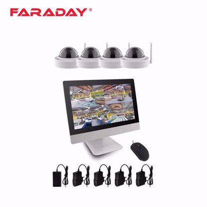 Faraday 3604M4W IP Wi-Fi video kit