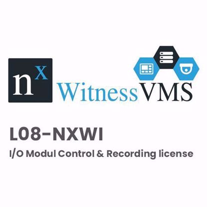 Nx Witness L08-NXWI I/O Modul Control & Recording license