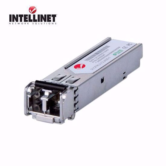 INTELLINET Gigabit Fiber SFP Optical Transciever Module, 550m