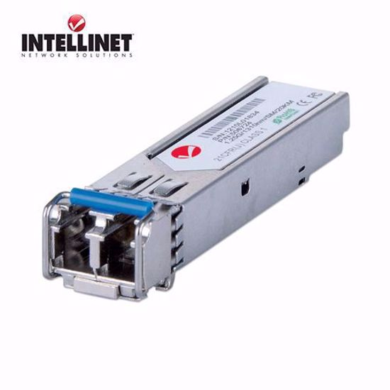 INTELLINET Gigabit Fiber SFP Optical Transciever Module, 20km