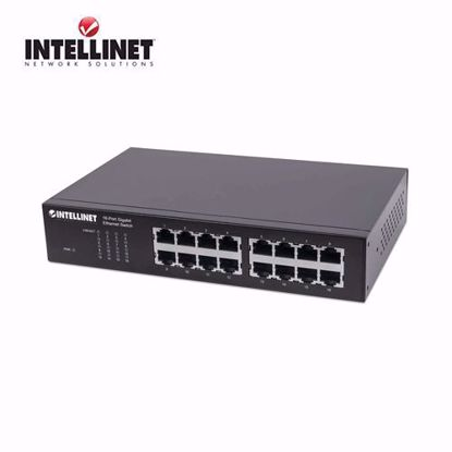 INTELLINET 16-Port Gigabit Ethernet Switch
