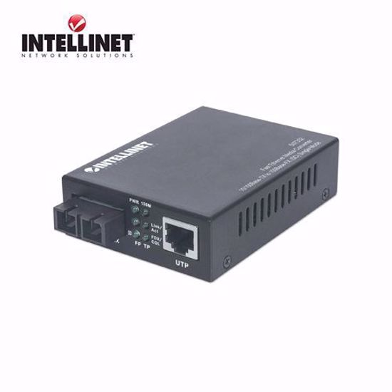 INTELLINET Fast Ethernet Single Mode Media Converter